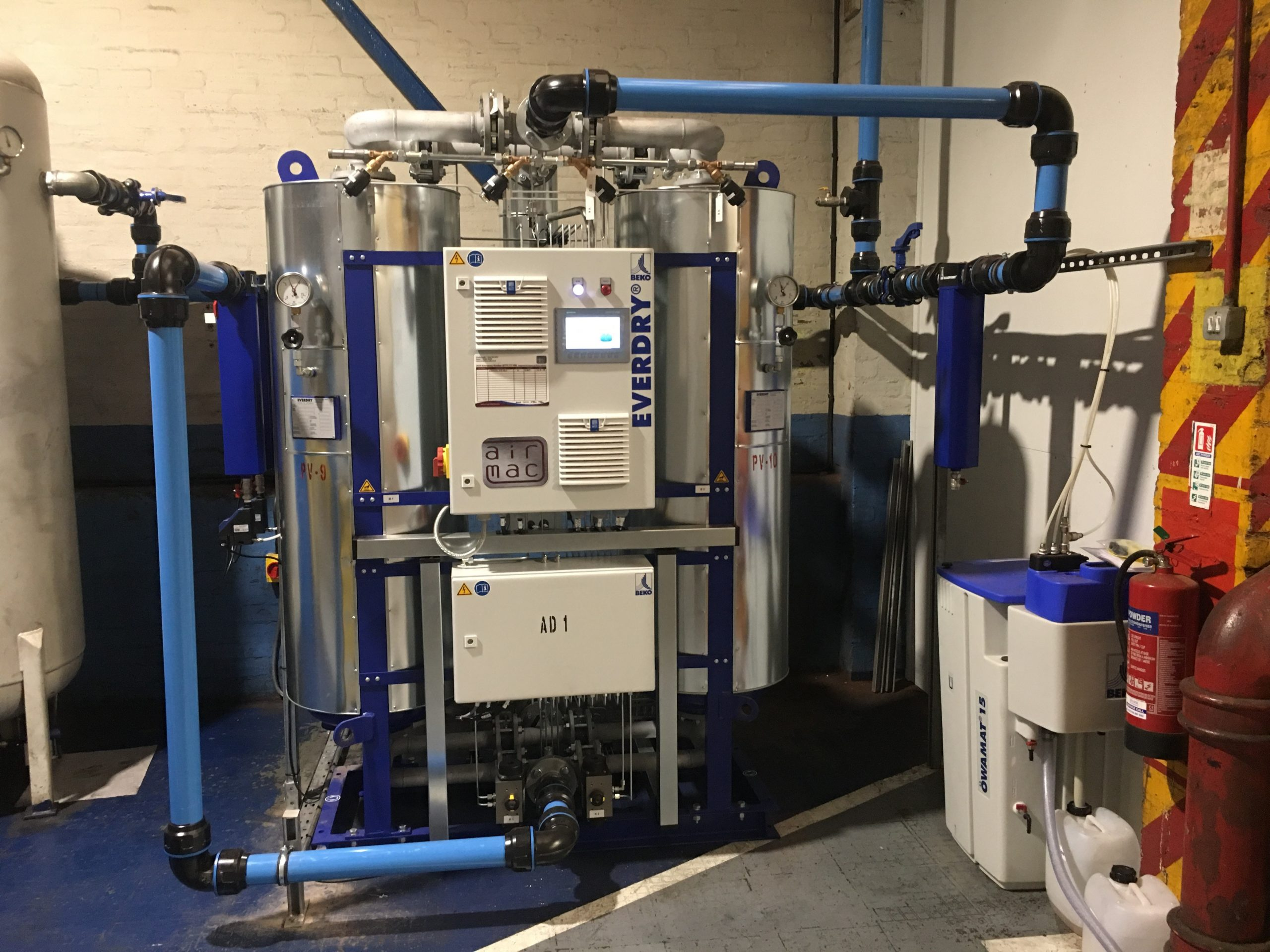 Refrigerated and Desiccant Dryer & Filter Hire